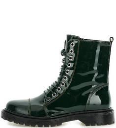 Демисезонные лаковые ботинки Bronx