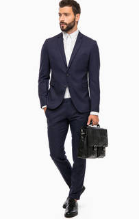 Классический костюм синего цвета Cinque