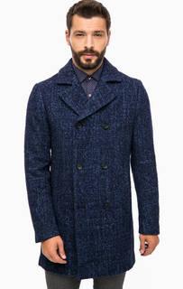 Хлопковое двубортное пальто Cinque