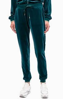 Бирюзовые трикотажные брюки джоггеры Liu Jo Sport