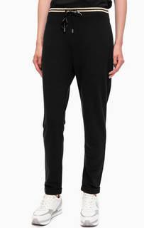 Черные хлопковые брюки джоггеры Liu Jo Sport