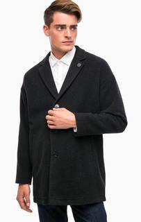 Классическое пальто серого цвета Liu Jo Uomo