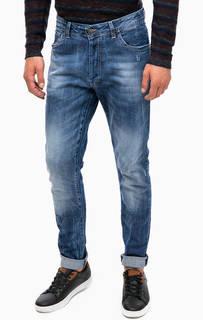 Зауженные джинсы на болтах Liu Jo Uomo