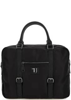 Текстильная сумка с одним отделом Trussardi Jeans