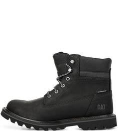 Высокие черные ботинки Caterpillar