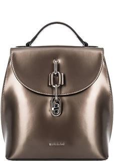 Кожаный рюкзак с откидным клапаном Baldinini
