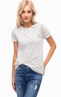 Трикотажная футболка в полоску Mavi