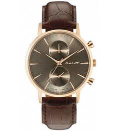 Часы с выделкой под рептилию Gant