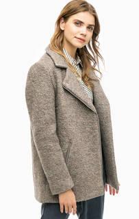 Демисезонное пальто на молнии Ichi