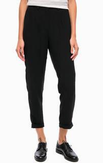 Классические черные брюки зауженного кроя Blend She
