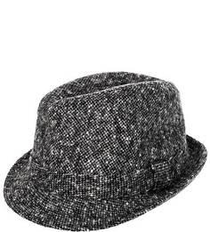 Серая шляпа из шерсти Lagerfeld