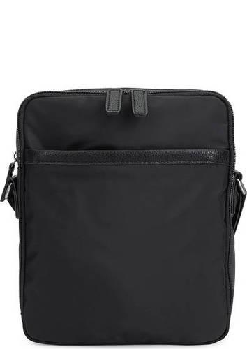Текстильная сумка с двумя отделами