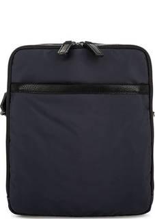 Синяя текстильная сумка с двумя отделами Picard