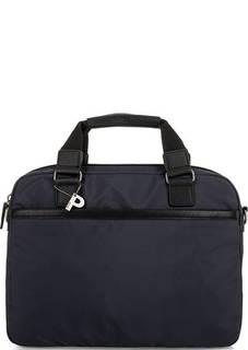 Синяя текстильная сумка с короткими ручками Picard