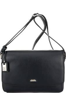 Кожаная сумка через плечо с карманами Picard