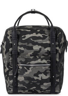 Вместительный рюкзак с камуфляжным принтом Picard