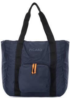 Складная текстильная сумка с длинными ручками Picard