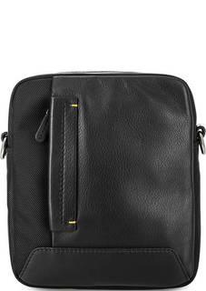 Маленькая сумка из кожи и текстиля Gianni Conti