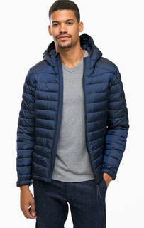 Легкая стеганая куртка с капюшоном Scotch&Soda
