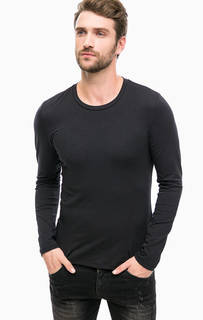 Черная хлопковая футболка Mavi