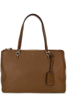 Вместительная сумка из мягкой кожи Dkny