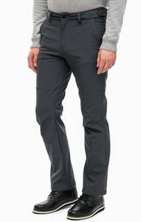 Серые утепленные брюки прямого кроя Luhta