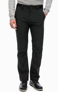 Черные утепленные брюки с тремя карманами Luhta