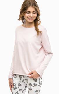 Однотонный розовый свитшот Juvia