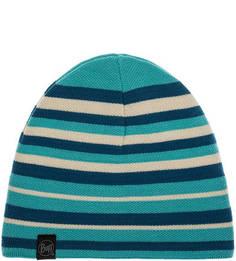 Синяя шапка в полоску Buff
