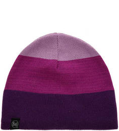 Трехцветная трикотажная шапка Buff