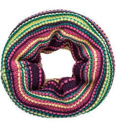 Разноцветный шарф-хомут в полоску Buff