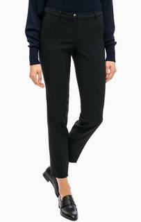 Черные зауженные классические брюки More & More