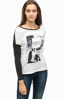 Серая футболка с принтом More & More