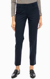 Классические зауженные брюки синего цвета More & More
