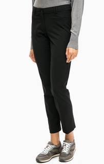 Классические зауженные брюки черного цвета More & More