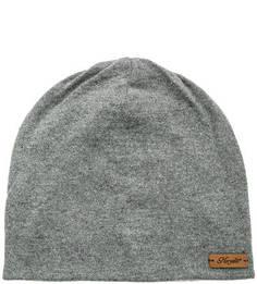 Серая шапка с подкладкой Noryalli