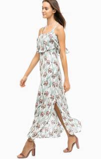 Платье на тонких бретелях с цветочным принтом Darling