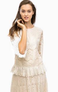 Кружевная блуза с длинными рукавами Darling