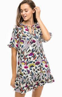 Короткое платье с цветочным принтом Darling