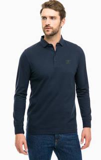 Однотонная футболка поло Barbour