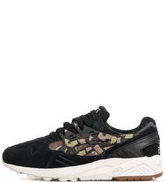Кроссовки с камуфляжным принтом Asics Tiger
