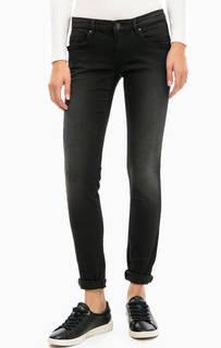 Темно-серые джинсы скинни Gas