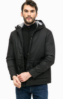 Демисезонная куртка черного цвета Jack & Jones