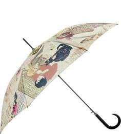 Зонт-трость с ветроустойчивым каркасом Doppler