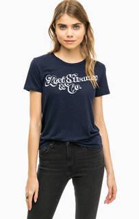 Синяя футболка с вышивкой Levis®