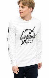 Хлопковая футболка с контрастным принтом Levis®
