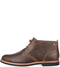 Кожаные ботинки дезерты Timberland