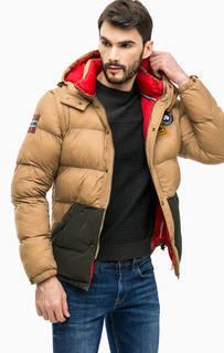 Демисезонная куртка со съемными рукавами Napapijri