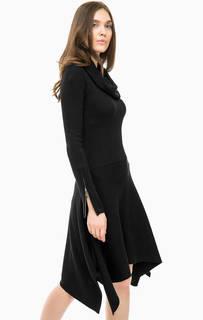 Трикотажное платье с объемным воротом Marciano Guess
