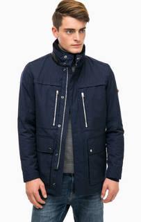 Синяя демисезонная куртка Strellson